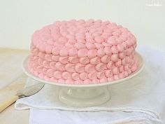 Pink Cake Decorating Tutorial