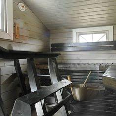 Mummonmökki 2-kerroksinen 20 m2 saunalla   Fiksua kauppaa jo vuodesta 1987 20 M2, Blinds, Curtains, Home Decor, Decoration Home, Room Decor, Shades Blinds, Blind, Draping