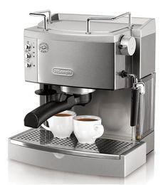 DeLonghi EC702 15-Bar-Pump Espresso Maker, Stainless DeLonghi http://smile.amazon.com/dp/B001CNG7RY/ref=cm_sw_r_pi_dp_jps-tb039090F