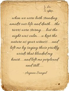 when we were both standing amidst our life and death.....the...