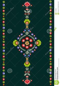 Polish embroidery pattern