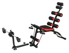 Total Fitness Six Pack Cycle Hitam