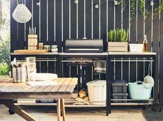 Outdoor deck kitchen ideas outdoor kitchen ideas on a deck the great outdoor kitchen design ideas outdoor kitchen deck images Ikea Outdoor, Outdoor Dining, Dining Area, Outdoor Ideas, Deck Kitchen Ideas, Simple Outdoor Kitchen, Outdoor Kitchen Design, Outdoor Kitchens, Ikea Kitchens