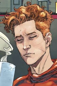 I literally gasped, I'm living, Kenneth Rocafort's Wally is perfect