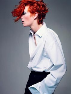 Tilda Swinton is amazing. Huge fashion inspiration. She is perfection in androgyny