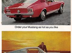 You may also be interested in the production numbers: http://justacarguy.blogspot.com/2008/03/shelby-mustang-production-figures-1965....