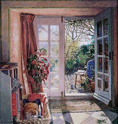 Stephen Darbishire 1940 | British Impressionist painter | Tutt'Art@