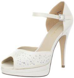 Brianna Leigh Womens Ignite Platform SandalIvory11 B US * Check this awesome product by going to the link at the image.