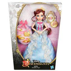 Descendientes de Disney Auradon Coronación Jane:: Amazon.com Juguetes