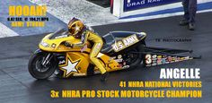 ONE NAME SAYS IT ALL IN NHRA PRO STOCK MOTORCYCLE !