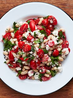Recipe: Tomato and Feta White Bean Salad — Quick and Easy Vegetarian Dinners