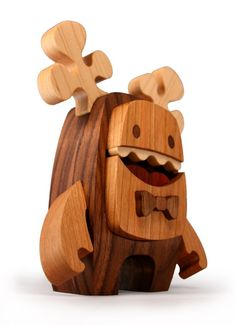 by Wood Candy Workshop Vinyl Toys, Vinyl Art, Wood Projects, Woodworking Projects, Wood Crafts, Diy And Crafts, 3d Art, 3d Prints, Cute Toys
