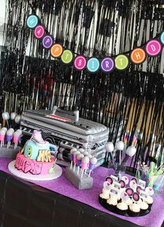 Dance Birthday Party Ideas   Photo 1 of 13