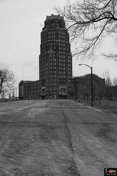 Buffalo Central Terminal - Abandoned spaces