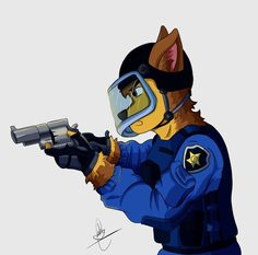 Marshall by on DeviantArt Furry Wolf, Furry Art, Disney Dogs, Disney Art, Pikachu Drawing, 101 Dalmatians Cartoon, Paw Patrol Characters, Lion King Art, Pokemon