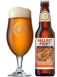 Ballast Point Grapefruit Sculpin: Fruity Beer Done Right
