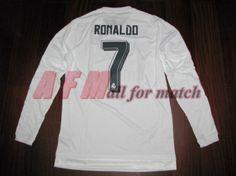 bd70f1010 Retro 2016 Champions League Final Blancos Cristiano Ronaldo 7 White Home Soccer  Jersey Football Shirt Trikot Maglia Playera De Futbol Camiseta De Futbol