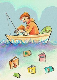 Pinzellades al món: Moments de lectura entre pares i fills / Momentos de lectura entre padres e hijos / Moments reading between parents and children
