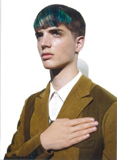 OLLI GREB FOR VOGUE HOMMES JAPAN