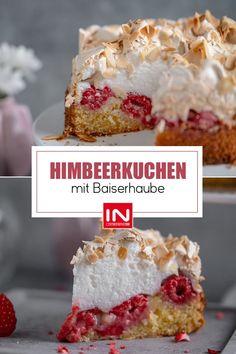 Dieser leckere Beeren-Kuchen sieht zwar zunächst aufwendig aus, ist aber eigentlich ein schnelles Rezept, das nur aus zwei Arbeitsschritten besteht. Ich liebe Himbeeren, daher habe ich mich dafür entscheiden. Ihr könnt das Rezept aber nach Belieben mit euren Lieblingsbeeren abwandeln.🍰🍓 #sallyswelt #sallysweltrezept #rezept #recipe #himbeerkuchen #raspberrycake #baiser #kuchen #torte #baiserkuchen #raspberry #cake #kuchenrezept #dessert #cakerecipe #berrycake #berry #beeren #früchtekuchen Meringue Cake, Berry, Dessert, Cereal, Breakfast, Food, Pies, Meringue Pie, Fast Recipes