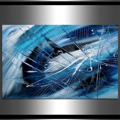 LARGE ARTWORK Abstract painting Art Modern Art on by largeartwork