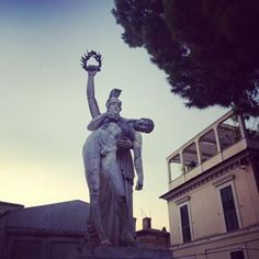 Statue in Lanciano Italy One of the oldest cities inhellip
