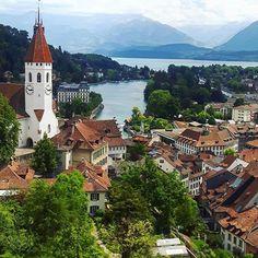 Above Thun, Photography by @hannah.tolley #Switzerland #Schweiz #Swiss #Svizzera #Suisse #Suiza #MySwitzerland #SwissAlps #BeautifulDestinations #tlpicks #earthpix #sennarelax #exploreswitzerland #Switzerlandwonderland
