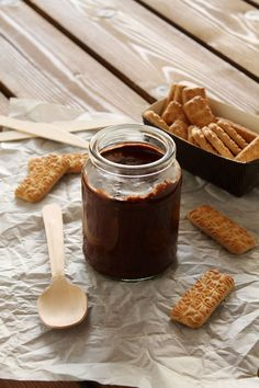 Easy homemade nutella (in Greek) Homemade Nutella Recipes, Muffins, Snack Recipes, Snacks, Tasty, Yummy Food, Cookie Cups, Toddler Meals, Toddler Food