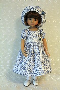 Dress and Hat for 13 Inch Dianna Effner's Little by BabiesArtUs