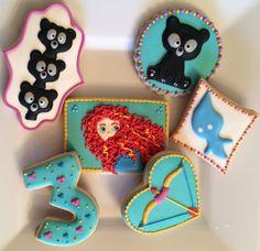 Brave/Merida Cookies