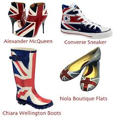 union jack shoes...so now I can take it with me out on the town