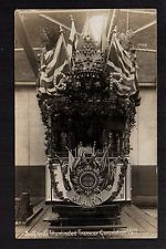Salford - Illuminated Tramcar, Coronation 1911 - real photographic postcard