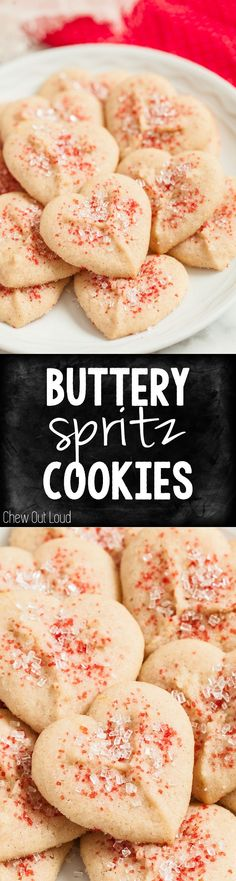 Buttery Spritz Cooki