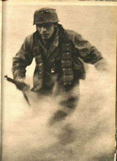 German paratrooper.