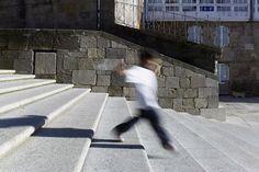 Reurbanización da rúa Raxoi | Salgado e Liñares | Santiago de Compostela 2010 | Santos-Díez | BISimages