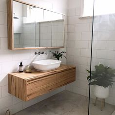 Australian recycled solid timber, custom made & designed bathroom vanities made in Torquay, Australia. International shipping available. Timber Bathroom Vanities, Timber Vanity, Ensuite Bathrooms, Bathroom Renos, Laundry In Bathroom, Bathroom Renovations, Bathroom Ideas, Industrial Bathroom, Bathroom Designs