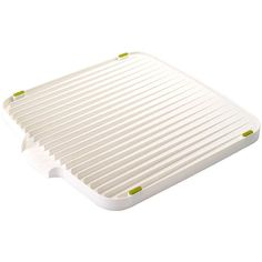 BuyJoseph Joseph Flip Double Sided Dish Drainer, White / Green Online at johnlewis.com