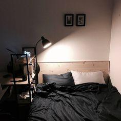 Bedroom Setup, Room Design Bedroom, Room Ideas Bedroom, Home Room Design, Small Room Bedroom, Bedroom Decor, Study Room Decor, Minimalist Room, Aesthetic Room Decor