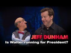 """""""Is Walter running for President? Jeff Dunham Walter, Funny Pictures, Funny Pics, Funny Stuff, Comedy Specials, New Comedies, Running For President, Old Tv, Best Quotes"""