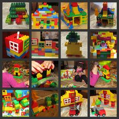 Legos are very popular and easy to play with. Children can create their own models of cars, planes, people, buildings or anything that they can think of.