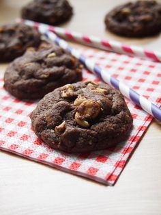 Chewy, Salted Caramel Chocolate Cookies