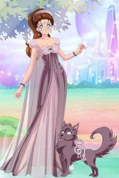 Solar Princess Star Wolf 359. Made by Shannon Stickel using doll divine's senshi maker.