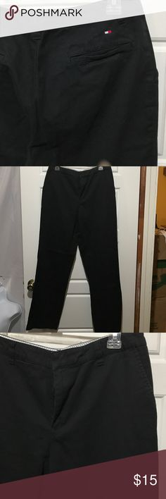 Tommy Hilfiger black dress pants 10 Tommy Hilfiger black dress pants 10 Tommy Hilfiger Pants