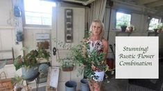 Easy to grow flowers: Rustic flower combination Easy To Grow Flowers, Growing Flowers, Cut Flowers, Rustic Industrial Decor, Rustic Lighting, Rustic Decor, Rustic Bouquet, Rustic Flowers, Interior Stairs