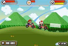 Mario Kart Race Mario Kart Ds, Mario Bros, More Games, Super Mario, Luigi, Family Guy, Racing, Fictional Characters, Running