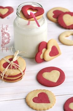 Heart cookies - make them for the one you love. Ensure they turn out picture perfect by using the Kuhn Rikon Cookie Press from House: https://www.house.com.au/product/kuhn-rikon-cookie-press