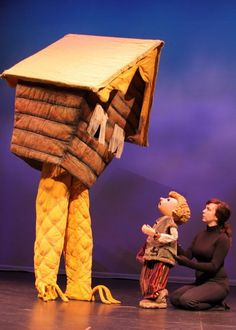 """Tears of Joy offers puppet theater for kids - current production """"Baba Yaga"""" runs through Feb. 12, 2012."""