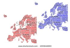 Sketch Europe letter text continent, Europe word - in the shape of the continent, Map of continent Europe - red and blue vector illustration Map Of Continents, Red And Blue, Sketch, Europe, Shape, Stock Photos, Lettering, Words, Illustration