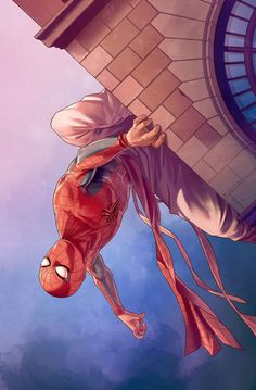westcoastavengers:  Spider-Man | Jamal Campbell   #Spiderman #Marvel #CivilWar #Comics