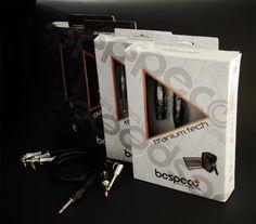 Packaging per cavi Bespeco professional Serie TITANIUM E PLATINUM - 169 Design